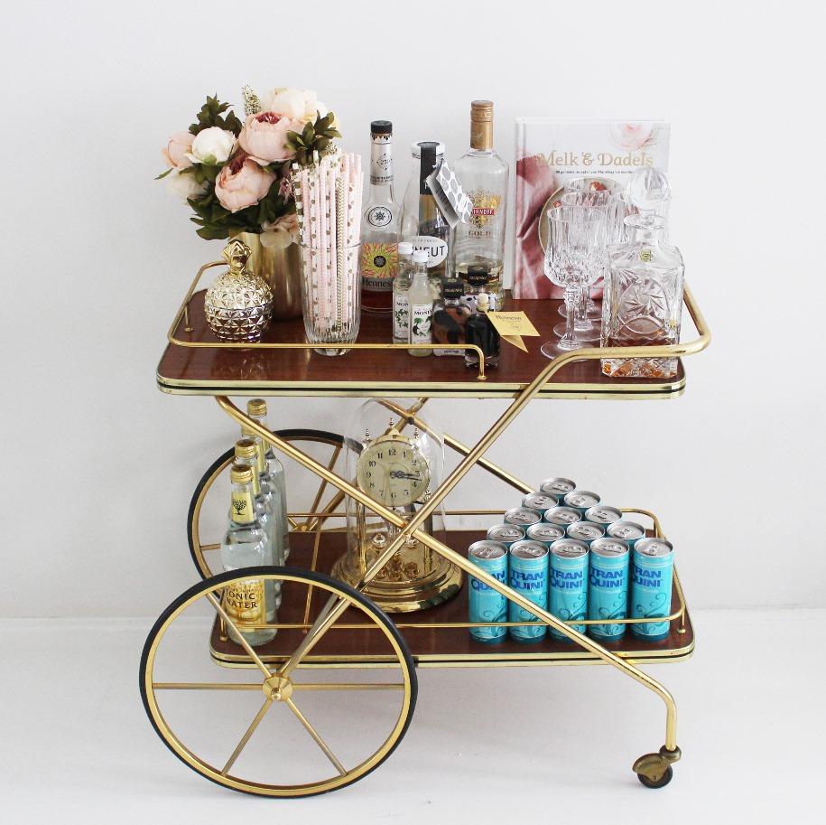 bar cart 3 sm