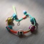 Neon Skull Bracelet