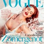 Rianne ten Haken on Dutch Vogue cover