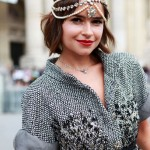 Miroslava Duma Couture Fashion Week Looks