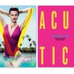 Saskia de Brauw on cover V magazine