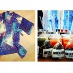 Galaxy Prints & Weekday lancering