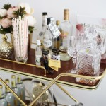 11 x bar cart styling tips
