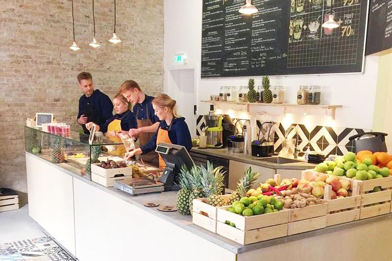 Healthy hotspots Kopenhagen