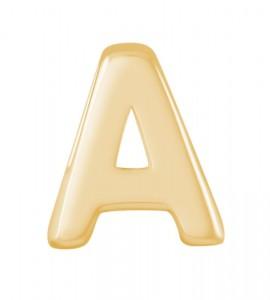 zilveren-hanger-goldplated-alfabet