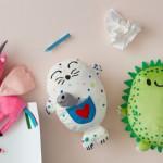 Kids ontwerpen knuffels voor IKEA